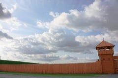 befästningvägg Arkivfoton