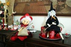 Befana dolls stock images