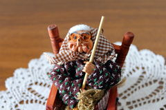 Befana or epiphany Royalty Free Stock Images