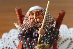 Befana or epiphany Royalty Free Stock Photography