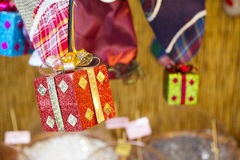 Befana holidays. Decorations and candies for befana holidays in Italy, epiphany Stock Image