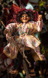 Befana-Marionette während der Offenbarungsfeier lizenzfreies stockfoto