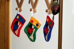 Befana stockings stock image