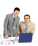 Befehl (Team) der Geschäftsleute Lizenzfreie Stockfotografie