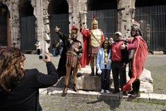 Befehlshaber am Kolosseum, Rom, Italien Lizenzfreie Stockfotos