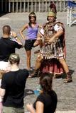 Befehlshaber werfen eine Gebühr für Touristen, Rom, Italien auf Lizenzfreie Stockbilder
