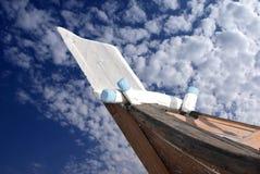 Befestigen Sie Verankerungs- Platz in einem arabischen Fischerboot Lizenzfreie Stockfotografie