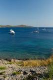 Befestigte Boote Lizenzfreies Stockfoto