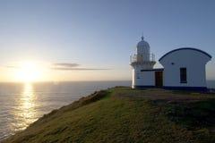 Befestigung des Punkt-Leuchtturmes Lizenzfreie Stockfotografie