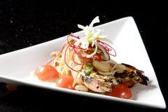 Befestigungsklammer-Salat Lizenzfreies Stockbild