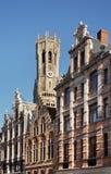 Beffroi à Bruges flanders belgium images stock