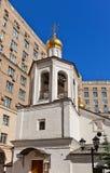 Beffroi d'église de Michael Arkhangel (1662) à Moscou, Russ Images stock