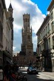 Beffroi de Bruges Photos libres de droits