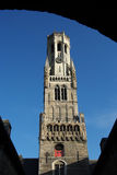 Beffroi de Bruges Image libre de droits