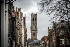 Beffroi de Bruges, Belgique Image stock