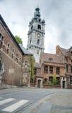 Beffroi de Mons en Belgique Image libre de droits