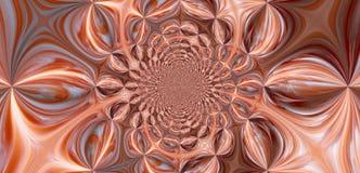 befjädrar flamingoen vektor illustrationer