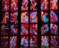 befläckt exponeringsglas Fotografering för Bildbyråer