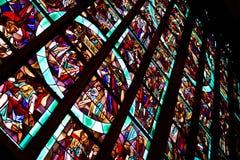 befläckt exponeringsglas Arkivbilder