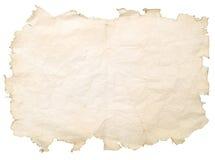 befläckt gammalt papper Arkivfoton