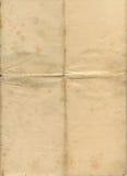 befläckt gammalt papper för grunge Arkivfoton