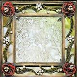 befläckt glass fyrkant Arkivbilder