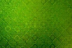befläckt glass green Royaltyfri Fotografi