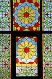 befläckt glass mosaik Fotografering för Bildbyråer