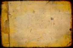 befläckt grungy papper Arkivbilder