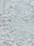 befläckt papper Arkivbild
