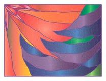 befläckt julexponeringsglas Arkivbild