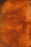Befleckte korrodierte Oberfläche der Weinlese klarer Rost Metall Stockfoto