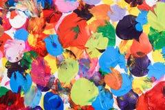 Befleckter Mehrfarbenhintergrund Stockbilder