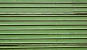 Befleckter metallischer Zaun Lizenzfreie Stockfotografie