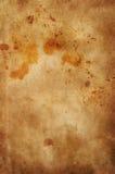 Beflecktes antikes Papier Stockbild