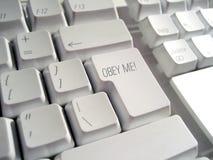 Befolgen Sie mich Tastatur stockbilder