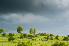Befor the Rain Royalty Free Stock Images