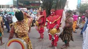 Befordran för Mangalore karavaliutsava Royaltyfri Foto