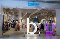 Befree Fashion clothes shop in a big mall Stock Images