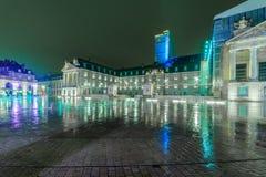 Befreiung square place de la liberation, in Dijon lizenzfreie stockfotos
