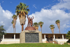 Befrielsestaty, Windhoek, Namibia Arkivfoton