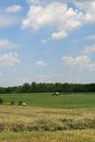 Befruchtung der Felder Lizenzfreie Stockfotos