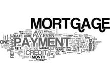 Beg Borrow Or Steal Make That Mortgage Payment Word Cloud Stock Photos