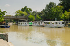 Bega River, Timisoara Royalty Free Stock Image