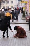 Beggar Stock Image