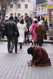 Beggar Royalty Free Stock Photo