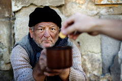 Beggar Royalty Free Stock Photography