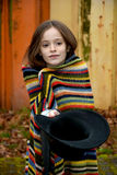 Beggar girl Stock Photography