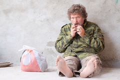 Beggar Royalty Free Stock Photos