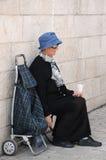 Beggar in Jerusalem Stock Photos